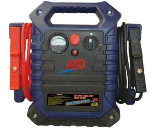 Review ATD Tools 5928 12V 1700 Peak Amp 'ATD Power On The Go' Professional Jump Start