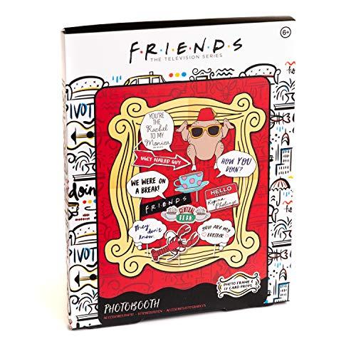 Friends TV Show - Cornice e accessori per foto, include 12 oggetti di scena e una cornice