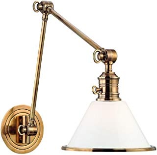 Hudson Valley Lighting 8333-OB One Light Wall Sconce from the Garden City collection Old Bronze