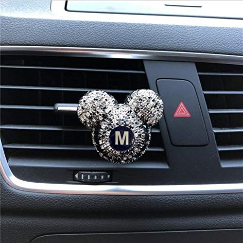 Oneriverspring40 Auto-luchtverfrisser individuele letters auto parfum Black Diamond auto-airconditioning Outlet-Clip-Auto-luchtverfrisser Lady Perfumes Auto-accessoires Small