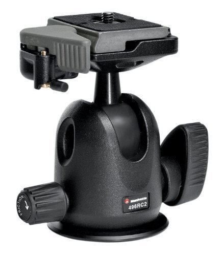 Manfrotto 496RC2 Rotula con Quick Release...