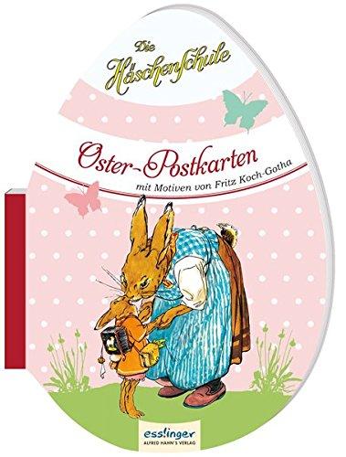 Die Häschenschule: Die Häschenschule - Oster-Postkarten