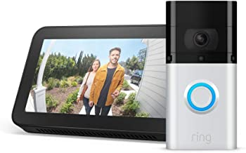 Ring Video Doorbell 3 Plus with Echo Show 5 (Charcoal)