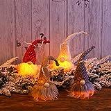 EmNarsissus Vacaciones de Navidad DIY Decoración Lana Linda muñeca Gnomo con...