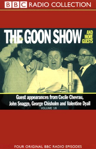 The Goon Show, Volume 18 cover art