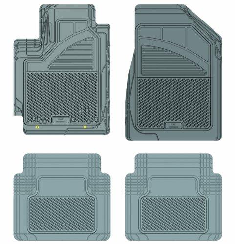 Koolatron Pants Saver Custom Fit 4 Piece All Weather Car Mat for Select Toyota Camry Models (Grey)