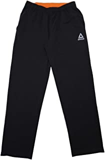 Reebok Mens Slim-Fit Stretch Active Pants, (Assorted Colors & Sizes)