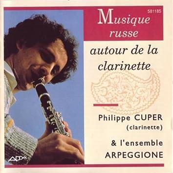 Musique russe autour de la clarinette (Russian Music for Clarinet)