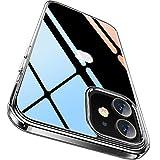 【Humixx】iPhone12 mini 用 ケース クリアケース 高透明 黄変防止 米軍MIL規格 超耐衝撃 レンズ保護 滑り止め 薄型 Qi充電対応 アイフォン12ミニ 用 カバー バンバー [Fantasy Series] (クリア)