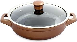 Caçarola de Cerâmica Duo Buffet, 24cm, 1,9 Litros, Cobre, Ceraflame