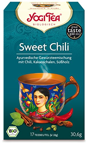 Yogi TEA Sweet Chili Bio, 17X1.8 g