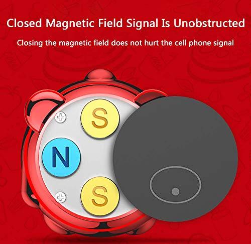 FTFTO Handyhalterung Auto Handyhalterung Magnet Universal 360 Grad Drehung Kfz LüFtung Halter füR Huawei und Jedes Andere Smartphone Oder GPS-GeräT, AutozubehöR - 6