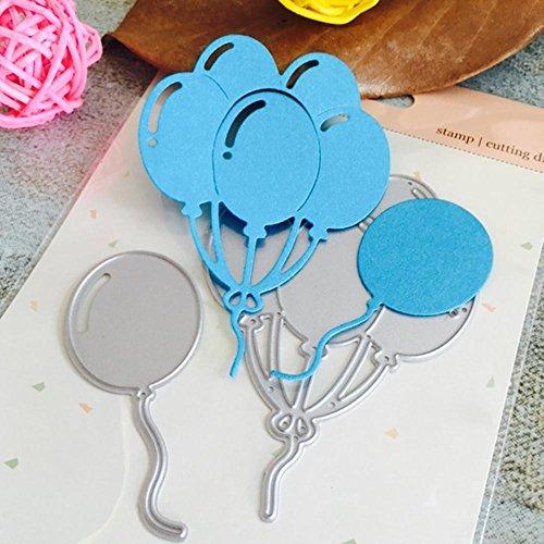 Transer Dies- DIY Scrapbooking tarjeta de papel álbum de repujado Craft Die artesanías herramienta de corte de metal Balloon (L:67x77mm)