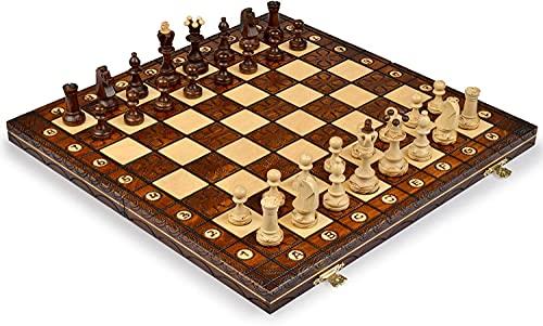 Chess Set - Junior European International - Handcrafted in Poland by Wegiel