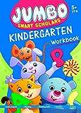 Jumbo Smart Scholars- Kindergarten Workbook Activity Book (320 full colour Pages) Alphabet, Numbers,Vocabulary