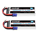 Best Battery For Note 3s - HRB 2pack 3S 11.1V 5000mAh LiPo Battery 50C Review