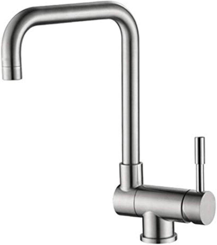 Wasserhahn Edelstahl Messing Chrom Bad Wasserhahn Edelstahl Klappküchenarmatur Waschbecken Wasserhahn Heie und kalte Waschbecken Wasserhahn 360 ° Drehung
