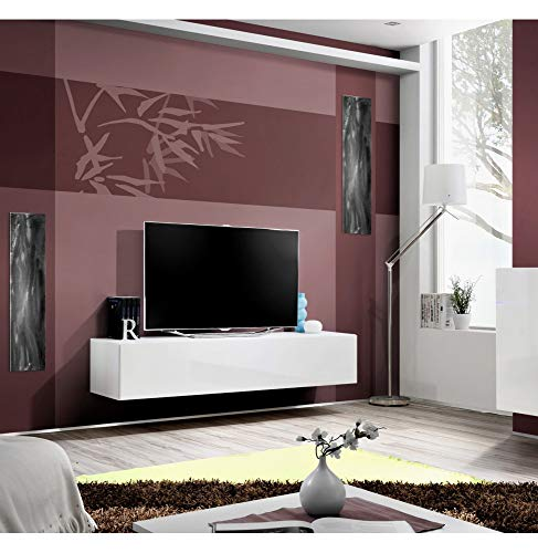 ASM Meuble TV - Blanc