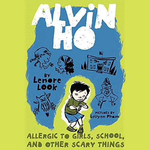Allergic to Girls, School, and Other Scary Things audiobook cover art