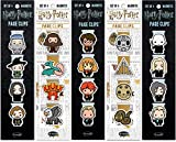 Re-marks Harry Potter Professors, Hagrid & Magical Creatures, Wizards, Dark Arts2, and Dark Arts Literary Collection Page Clips 5-Pack