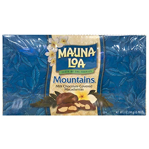 【MAUNA LOA】マウナロア マカダミアナッツチョコレート マウンテン 141g <ギフトボックス入り>