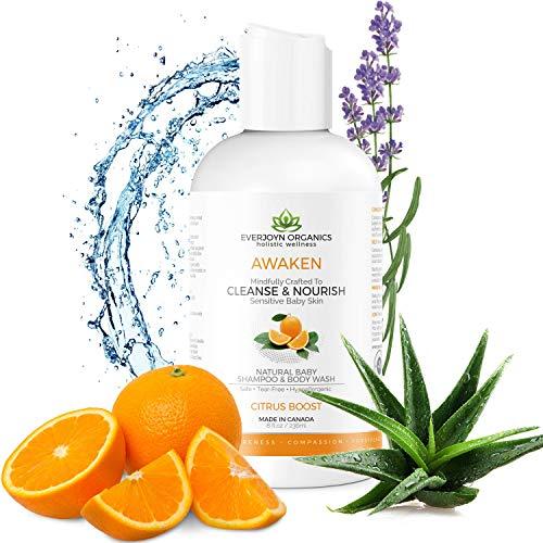 EverJoyn Organics Baby Shampoo & Body Wash   Made In Canada...