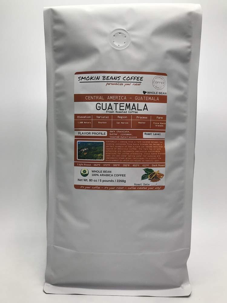 Central America Guatemala 5-Pound Coffee Max 87% OFF Premium Bag Arabica Low price