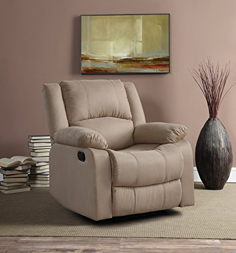 Relax A Lounger Warren Reclining Chair, Beige