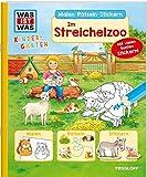 WAS IST WAS Kindergarten Malen Rätseln Stickern Im Streichelzoo: Malen, Rätseln, Stickern