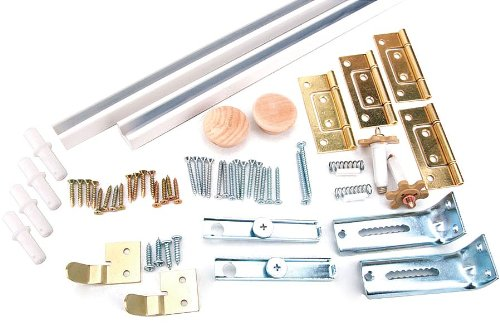 Bi-Fold Door Hardware Set White In. 72 quality assurance Quantity limited