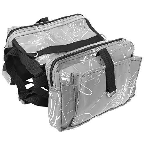Changor Hund Rucksack, Einstellbar Hund Sattel Tasche Polyester Material Polyester Gemacht Luft Permeabilität zum Reisend Wandern