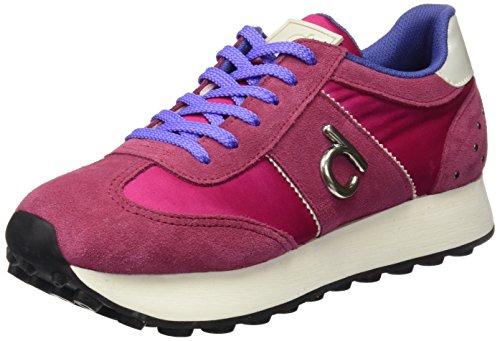 DUUO Quim Top, Zapatillas Mujer, Rosa (Fucsia), 36 EU