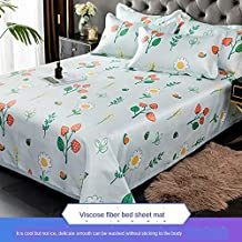 Summer Cool Sleeping Mat and Breathable Ice Silk Cold Sheets Pillowcase Mattress Can Be Washed and Folded,006,1.5m
