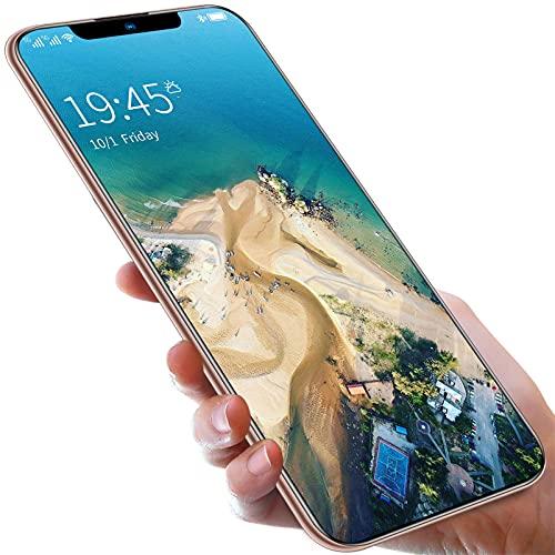 Teléfono móvil, teléfono Inteligente SIM Gratis Desbloqueado, Pantalla HD de 6.6 '' con Gota de Agua, Pantalla Completa, batería de 4800 mAh, cámara Dual de 16 MP + 32 MP, teléfono Celular Dual SIM