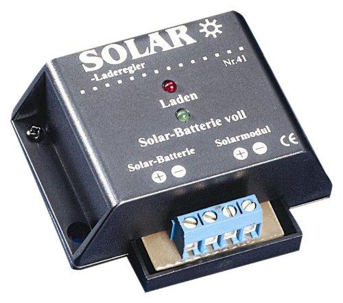 IVT 200007 Solar-Laderegler 12V 4A Ladegerät für Solarbatterien