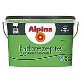ALPINA Farbe Tim Mälzer Farbrezepte 2,5 L. Natur Pur, Grün,