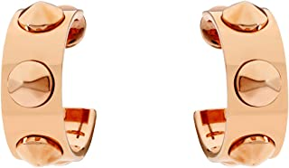 Calvin Klein Studs Leather Rose Gold One Size Earring KJ20BE010200