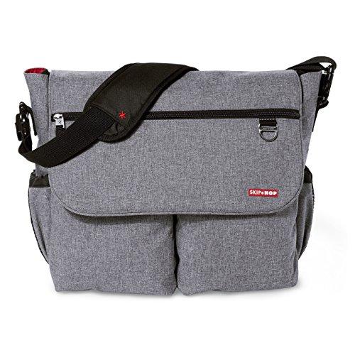 Skip Hop Dash Signature Diaper Bag, Heather Grey