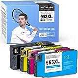 myCartridge SUPRINT - 4 cartuchos de tinta 953xl compatibles para impresoras HP 953 953xl OfficeJet Pro 8710 8715 8720 8725 8730 8740 8210 8218 7720 7730