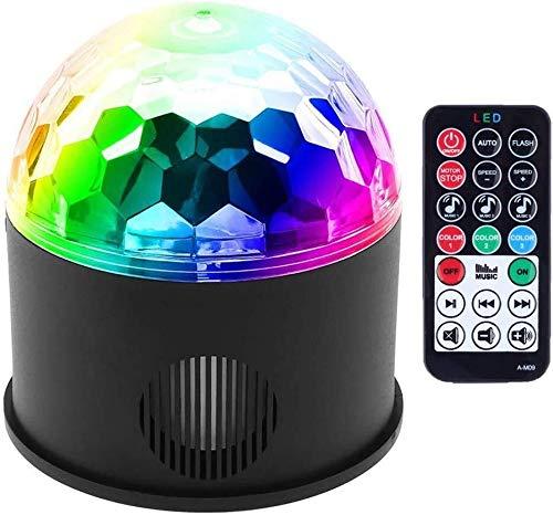 Proyector bola espejo partido color 9 luz partido