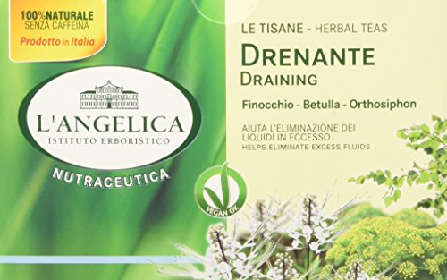 L'Angelica Tisana Drenante - 20 Filtri