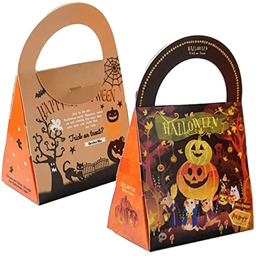noa's ハロウィン お菓子袋 ラッピング かぼちゃ キャンディーバッグ パンプキン ギフトバッグ プレゼント袋 10枚セット