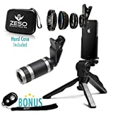 Camera Lens Kit by Zeso | Professional Telephoto, Macro & Wide Angle...