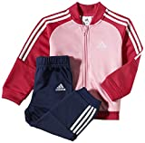 adidas I J PES Knit - Chándal para niños, Color Rosa/Negro/Blanco, Talla 86