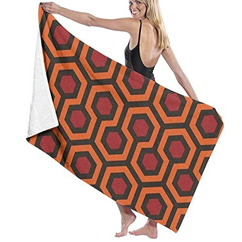 Overlook Hotel Toallas de playa para mujeres y hombres de secado rápido multiusos viaje piscina manta grande 80 x 130 cm