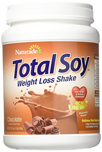 Naturade Total Soy Meal Replacement Supplement, Chocolate, 19.1 Ounce