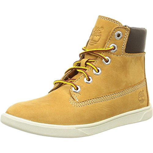 Timberland Groveton 6in, Unisex-Kinder Hohe Sneakers, Beige (Wheat), 40