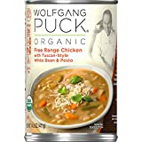 Wolfgang Puck Organic Free Range Chicken with Tuscan-Style White Bean & Pesto Soup, 14.5 oz. Can (Pack of 12)