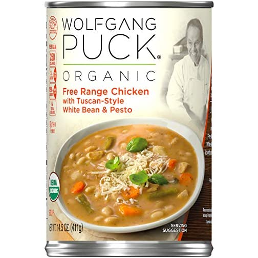 Wolfgang Puck Organic Signature Butternut Squash Soup, 14.5 oz. Can (Pack of 12) 3
