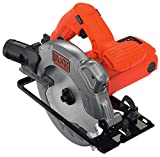BLACK+DECKER CS1250LK-QS - Sierra circular con cable,...
